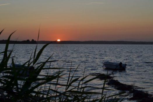 Wenn bei Hamburg-Nord die rote Sonne im Meer versinkt …